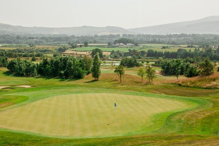 Ingles y Golf en Irlanda - Green de Golf
